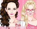 لعبة تلبيس اميرة الملابس الوردية