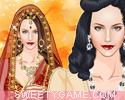 لعبة تلبيس ملابس هندية و غربية