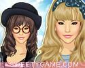 لعبة تلبيس موضة بنات طوكيو اليابانية