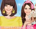 لعبة تلبيس عاشقة المثلجات