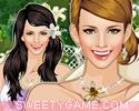 لعبة تلبيس اميرة زهور الزنبق